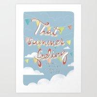 That Summer Feeling Art Print