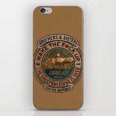 the awaken sheep iPhone & iPod Skin