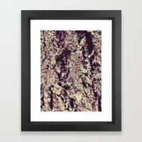 Tree Bark 2.0 Framed Art Print