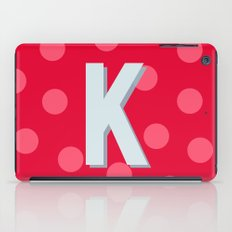 K is for Kindness iPad Case