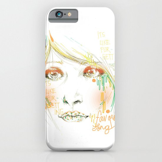 Favorite Song iPhone & iPod Case