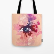 Color Eye Tote Bag