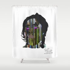 Input, Lost in Wonder, Lost in Love, Lost in Praise, forevermore  Shower Curtain