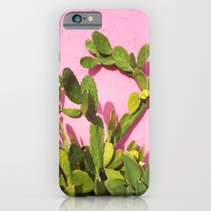 Pink Wall/Green Cactus  Slim Case iPhone 6s