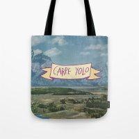 CARPE YOLO Tote Bag