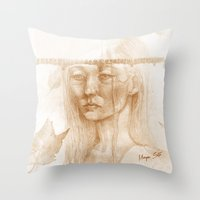 Otoño Throw Pillow