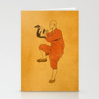 Shadow Kung Fu Stationery Cards