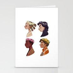 Flower Set Stationery Cards