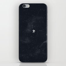 Gravity - Dark Blue iPhone & iPod Skin
