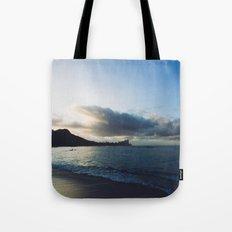 beach-morning 01 Tote Bag