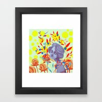 Queen Of Peace Framed Art Print