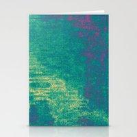 21-74-16 (Aquatic Glitch… Stationery Cards