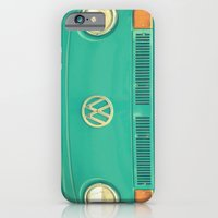 vw iPhone & iPod Cases featuring Groovy VW by RDelean