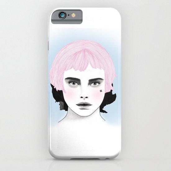 Fashion Illustration - Chanel Pink iPhone & iPod Case