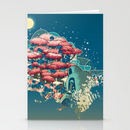 Journey /Discovery  Stationery Card