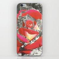 Exploded Rose iPhone & iPod Skin