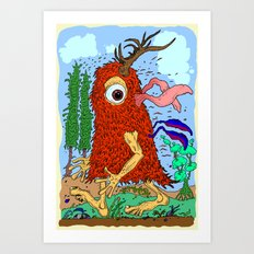 The Sighting Art Print