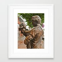 Framed Art Print featuring Coming Home by Vorona Photography
