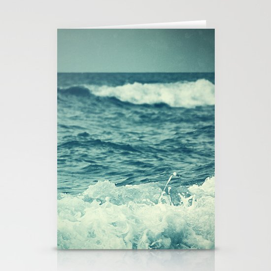 The Sea IV. Stationery Card