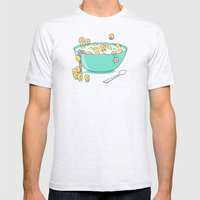 Early Morning Party Mens Fitted Tee Ash Grey SMALL