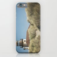 iPhone Cases featuring Bandon Lighthouse by Lawson Images