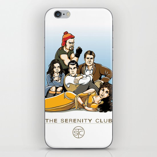The Serenity Club iPhone & iPod Skin