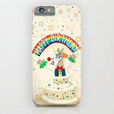 Happy Birthday Cake Unicorn Slim Case iPhone 6s