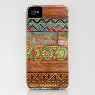 Indian Wood iPhone (4, 4s) Slim Case