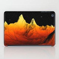 Sci Fi Mountains Landscape iPad Case