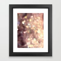Glitters in your Heart  - JUSTART ©, digital art.    Framed Art Print