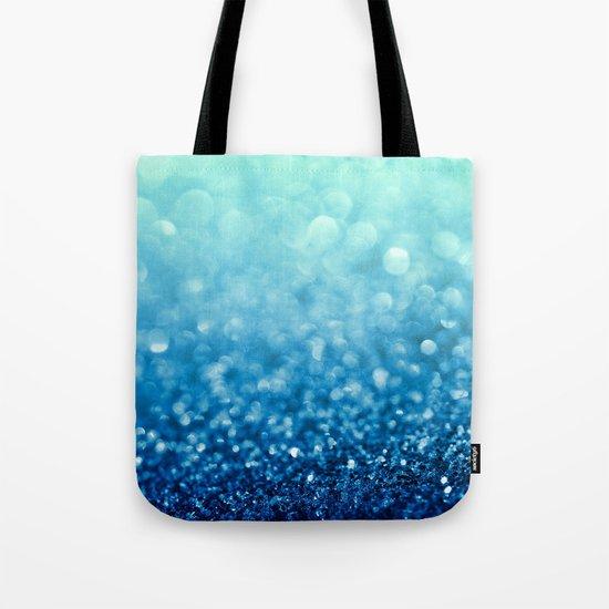 Tell Me True...Ocean Blue Tote Bag