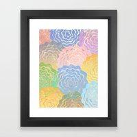 Summer Pattern #7 Framed Art Print