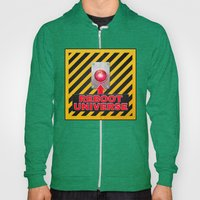 Reboot Universe Button Hoody