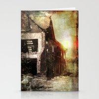 False Sunrise Stationery Cards