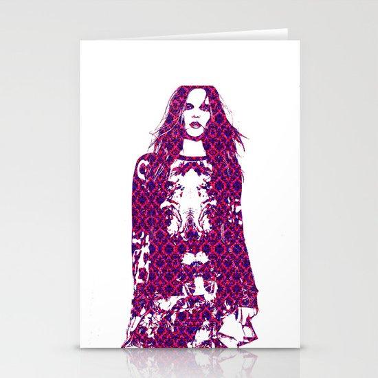 Fashion: Dorothea Barth Jorgensen Stationery Card