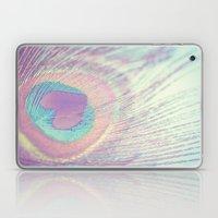 I Heart Peacocks Laptop & iPad Skin
