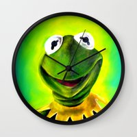 The Muppets- Kermit the Frog Wall Clock