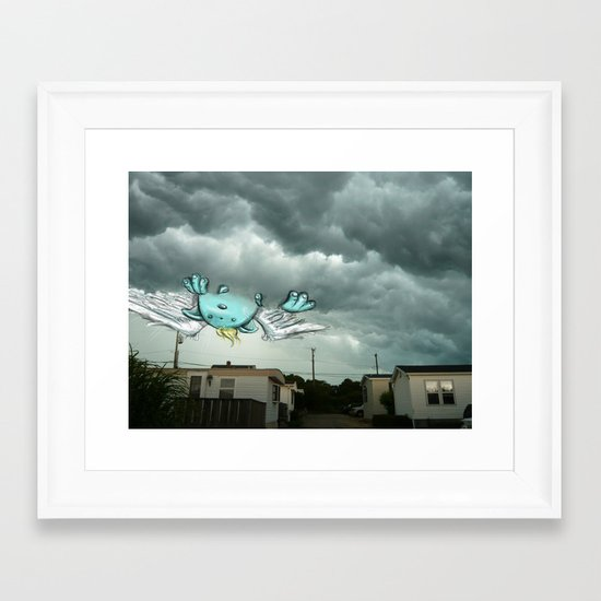 Monstertauk Framed Art Print