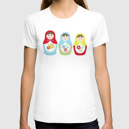 Matrioshka Dolls - Trio T-shirt