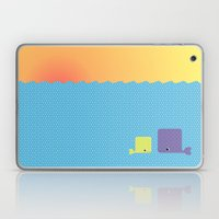 Having A Whale Of A Time Laptop & iPad Skin