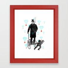 Lutte des Classes Framed Art Print