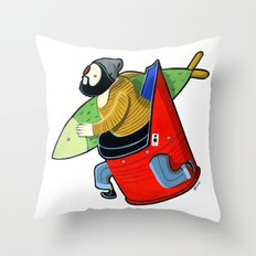 MORO brother A Throw Pillow