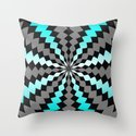 Maze Me Throw Pillow