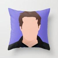 Ryan Reynolds Portrait Throw Pillow