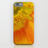 Orange Poppy II iPhone 6 Slim Case
