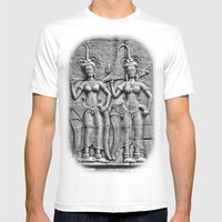 Cambodian Fertility Godd… Mens Fitted Tee White SMALL
