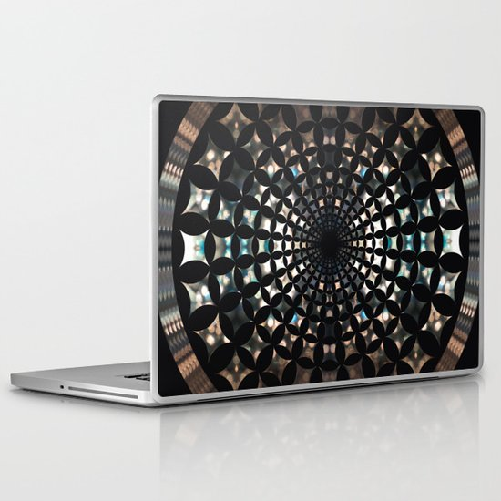 Shaped Lights #5 Laptop & iPad Skin