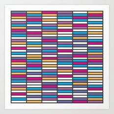 Color Grid 01 Art Print