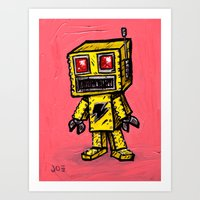 Baby Roboto Art Print