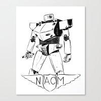 National Advisory Committee for Mecha-Electronics Canvas Print